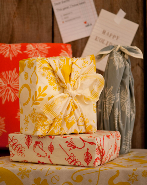 cloth gift wrap