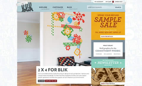 blik wall decals website